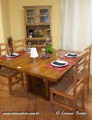 Mesa Jantar pe quadrado Vasado